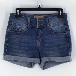 Wax Jean Butt I Love You Jean Shorts Size Small